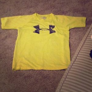 Neon yellow t-shirt